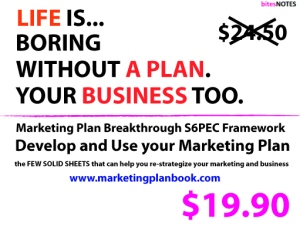 The truest low budget and high impact marketing; by having a plan