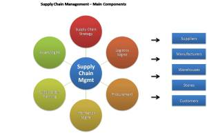 Supply Chain Mgmt Main Components