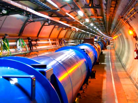 Part of LHC 27km circumference