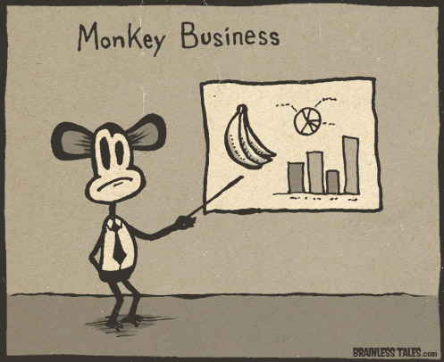 Dealing with tough cookie is no monkey business. Can be a real pain.